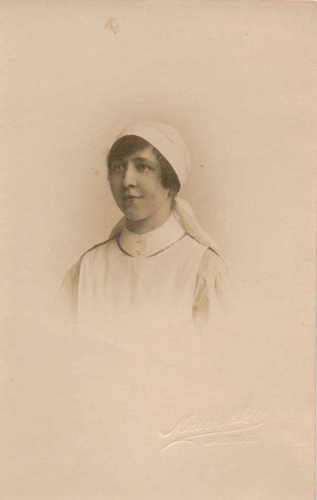 Nana as VAD Nurse