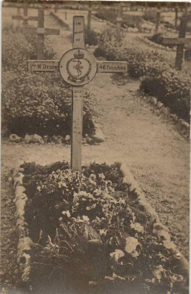War grave 1918