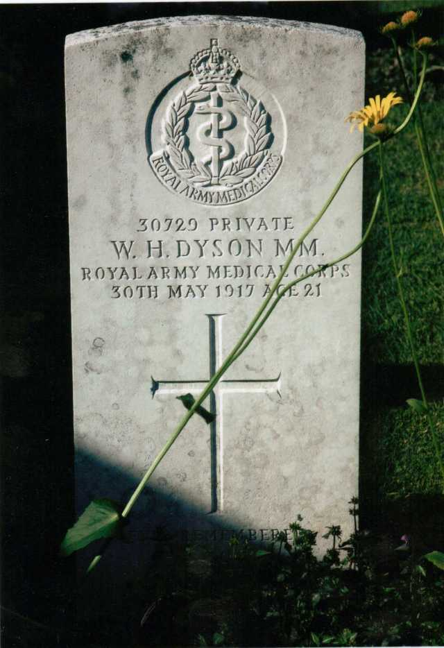 War grave today