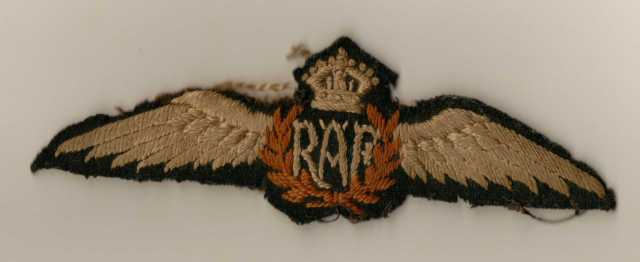 Artefact - RAF Badge