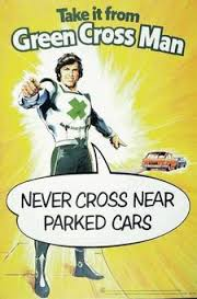 green cross man