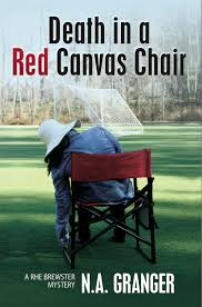 death in a red canvas chair