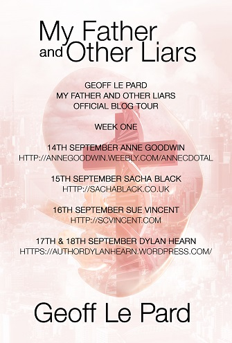 My father Blog Tour poster