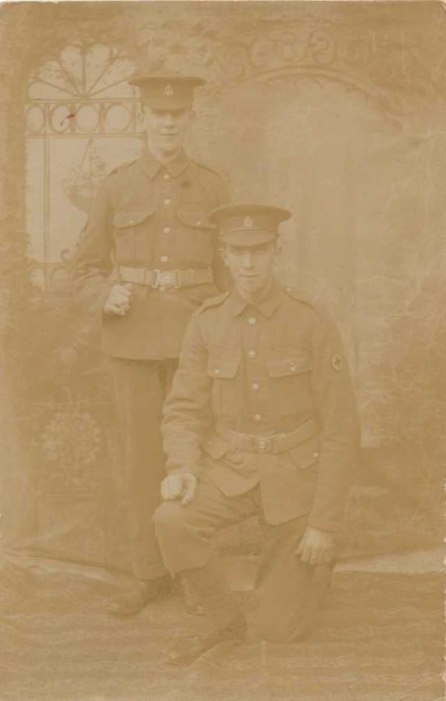 William (seated) and Edward Dyson