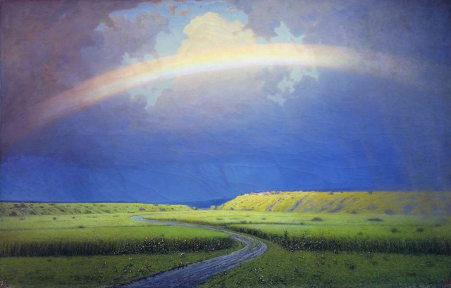 Jane D rainbow