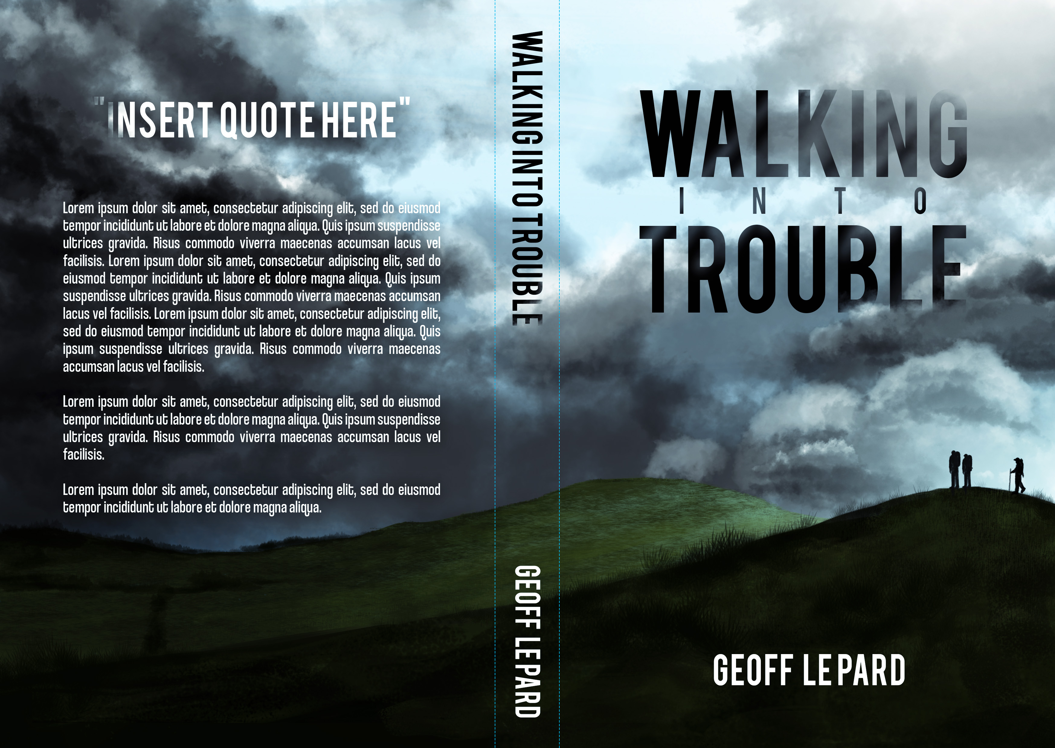Walking Into Trouble #newbook #cover